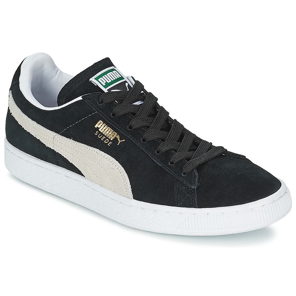 Puma SUEDE CLASSIC Black / White
