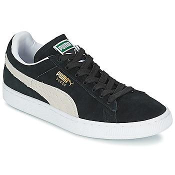 Puma SUEDE CLASSIC Black / White 350x350
