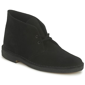 Clarks DESERT BOOT  BLACK 350x350