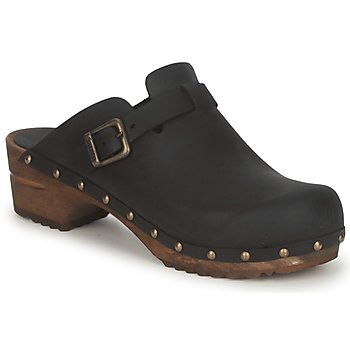 Sanita  KRISTEL OPEN  womens Clogs (Shoes) in Black