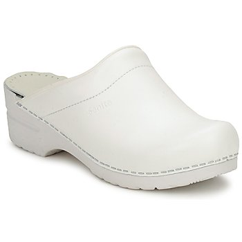 Sanita  SONJA OPEN  womens Clogs (Shoes) in White