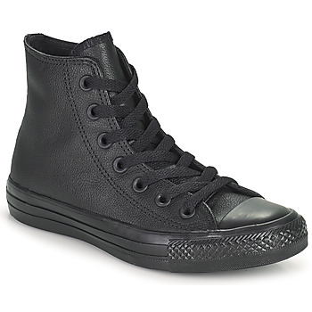 Converse ALL STAR LEATHER HI Black 350x350