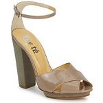 Sandals Keyté KRISTAL-26722-TAUPE-FLY-3