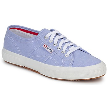 Superga 2750 COTUSHIRT Blue / Cream / Lt 350x350