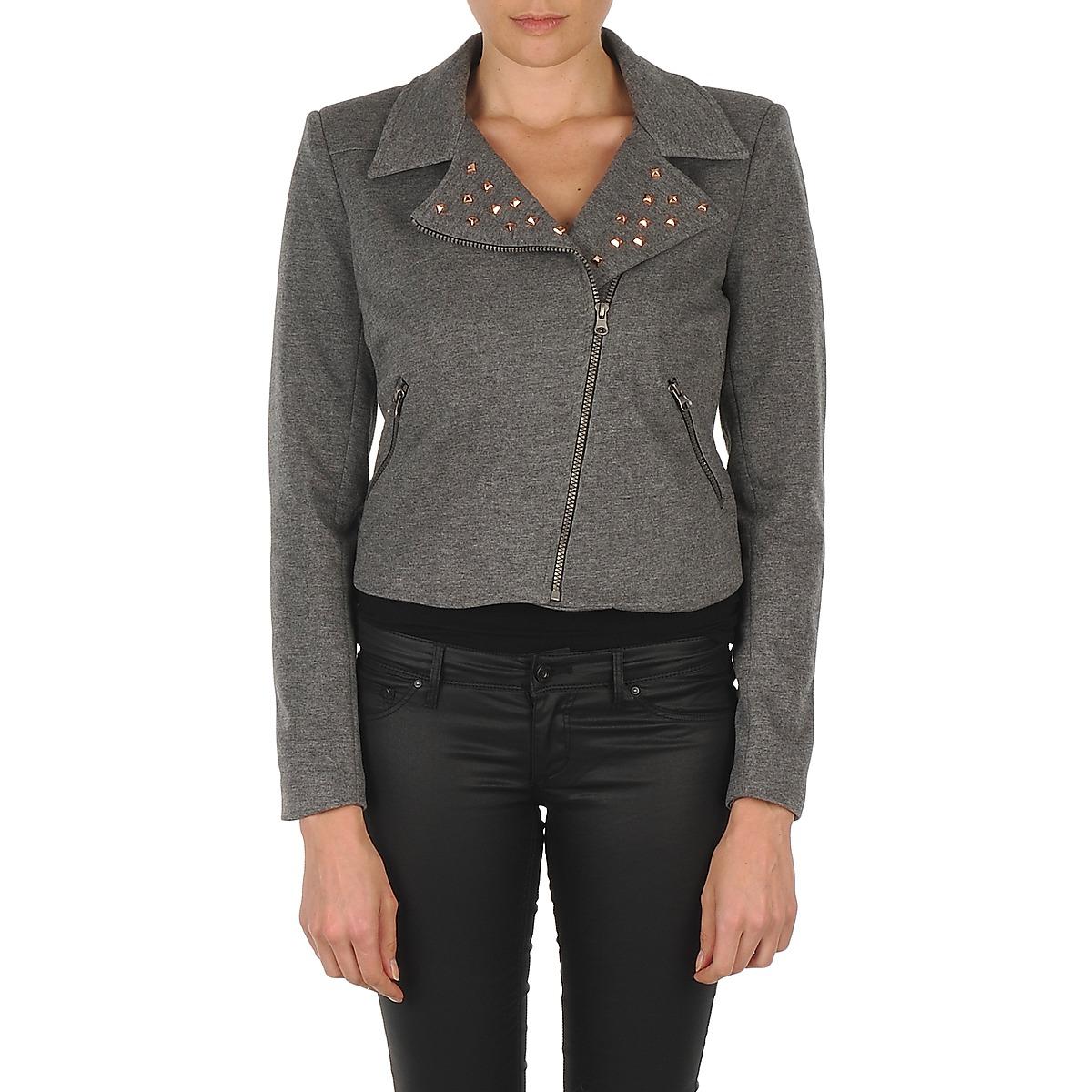 jackets blazers vero moda aya ls blazer grey free delivery with clothing. Black Bedroom Furniture Sets. Home Design Ideas