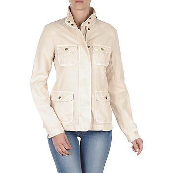 Gant  COTTON LINEN 4PKT JACKET  womens Jacket in Cream