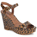 Lucky Brand LINDEY women Sandals in LUXE LEOPARD