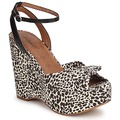Lucky Brand VIERA women Sandals in LEOPARD/NATURAL