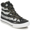 Converse ALL STAR ROCK STARS BARS HI boys's / Children's Shoes (High-top Trainers) in Black / White