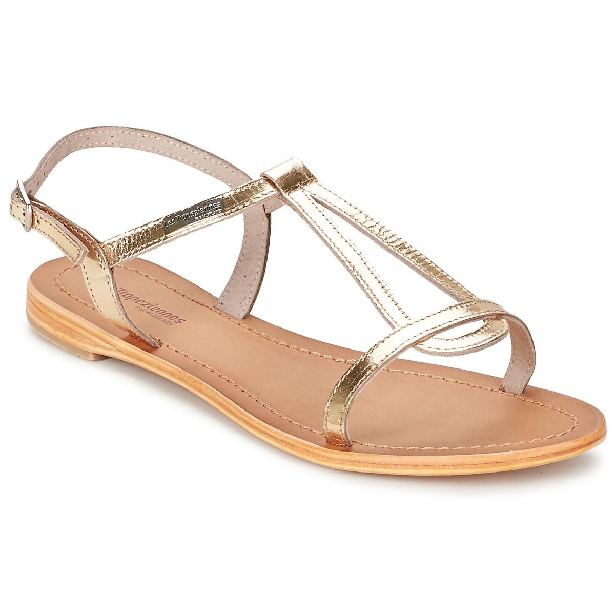 sandals les trop ziennes par m belarbi hamess gold free delivery with spartoo uk shoes. Black Bedroom Furniture Sets. Home Design Ideas