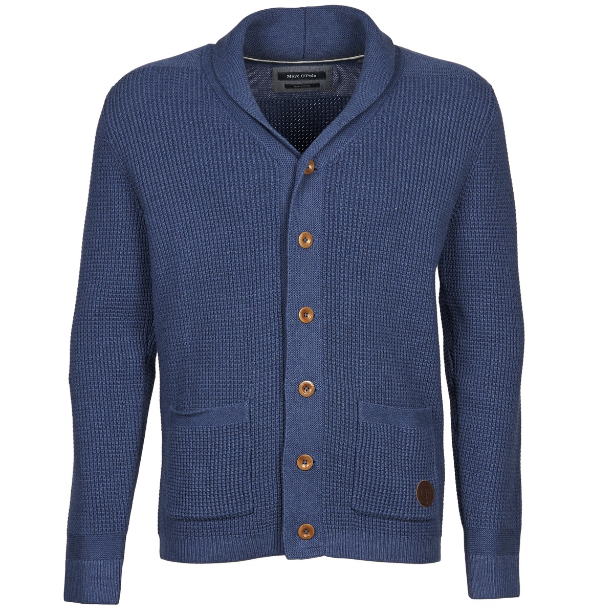jackets cardigans marc o 39 polo ramun blue free delivery. Black Bedroom Furniture Sets. Home Design Ideas