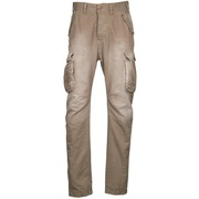 Cargo trousers Freeman T.Porter PUNACHO COTTON GAB CHOCOLATE CHIP