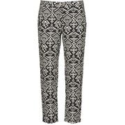 Loose trousers Freeman T.Porter PARADISE AFRICAN COT. BLACK INK