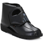 Ankle boots Kickers Star Wars Mens Black Darth Vader Gaiter Boots