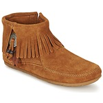 Mid boots Minnetonka CONCHO FEATHER SIDE ZIP BOOT