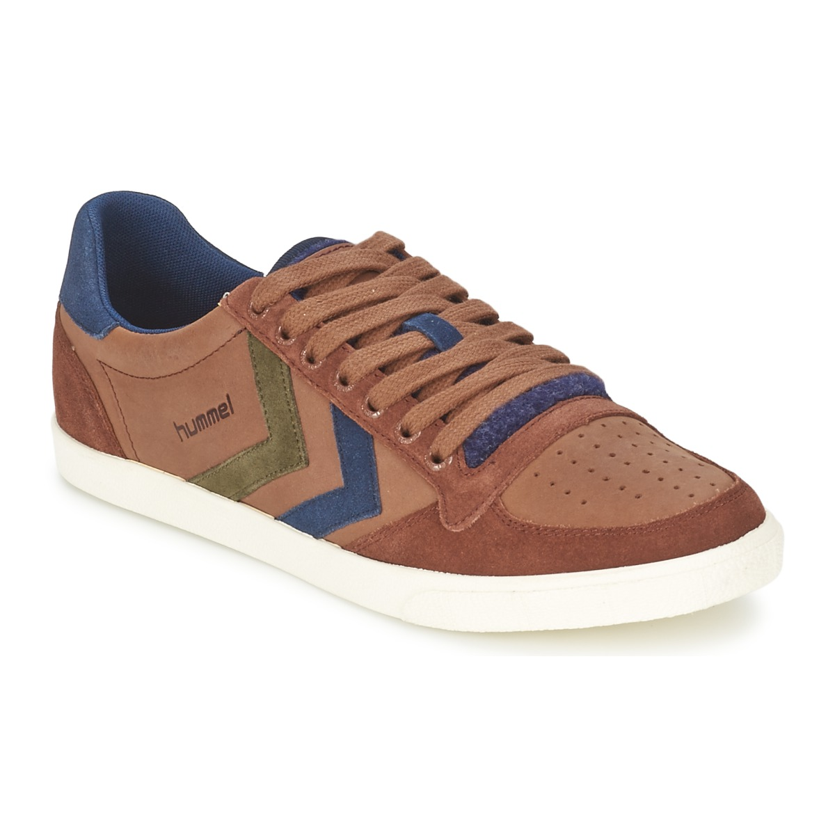 low top trainers hummel slimmer stadil mix low friar brown free delivery with. Black Bedroom Furniture Sets. Home Design Ideas