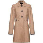 coats Anastasia Orange Womens Wool Winter 60`s Coat