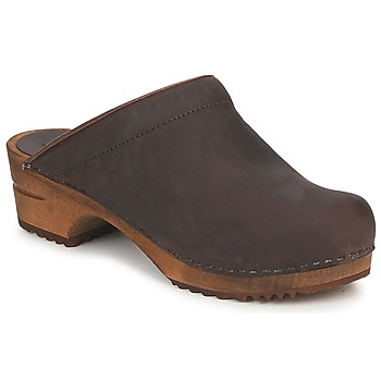 Sanita  CHRISSY OPEN  womens Clogs (Shoes) in Brown