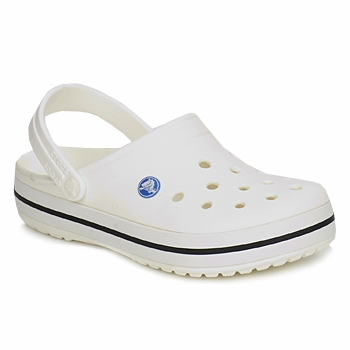 Crocs  CROCBAND  men&39s Clogs (Shoes) in White