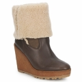 Pare Gabia NELICE women Low Ankle Boots in CHOCOLATE