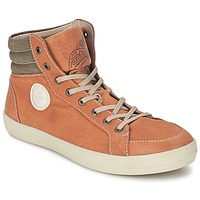 Shoes Men Hi top trainers Pataugas CLEFT H CAMEL