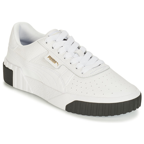 Shoes Women Low top trainers Puma CALI White / Black