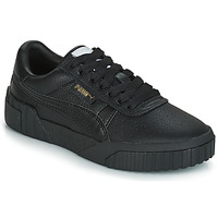 Shoes Women Low top trainers Puma CALI Black