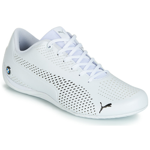 Shoes Men Low top trainers Puma BMW DRIFT CAT 5 ULTRA.WHT White