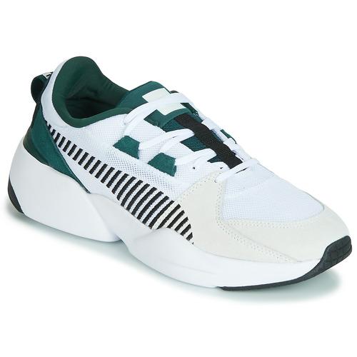 Shoes Men Low top trainers Puma ZETA SUEDE.WHITE-PONDEROSA White