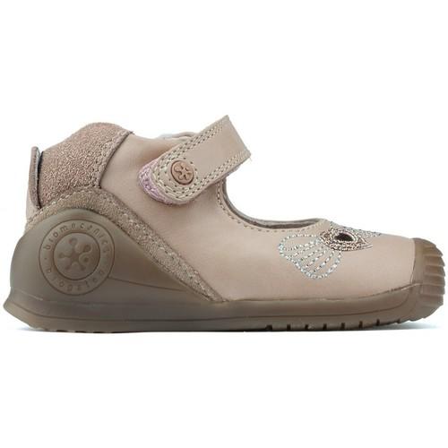 Shoes Girl Flat shoes Biomecanics MANUALS 181132 PINK