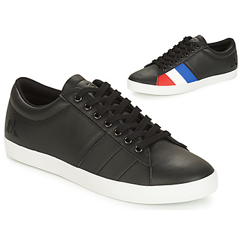 Shoes Men Low top trainers Le Coq Sportif FLAG Black