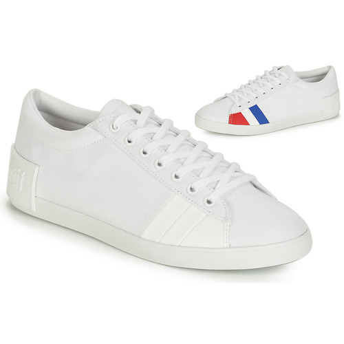 Shoes Women Low top trainers Le Coq Sportif FLAG White