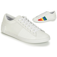 Shoes Women Low top trainers Le Coq Sportif FLAG White / Multicolour