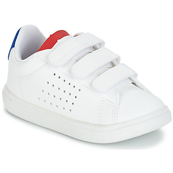 Shoes Children Low top trainers Le Coq Sportif COURTSET INF White / Blue / Red