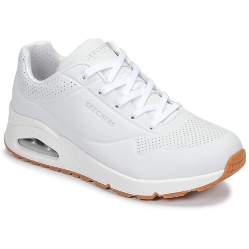 Shoes Women Low top trainers Skechers UNO White