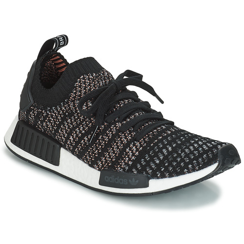 Shoes Men Low top trainers adidas Originals NMD_R1 STLT PK Black / Grey
