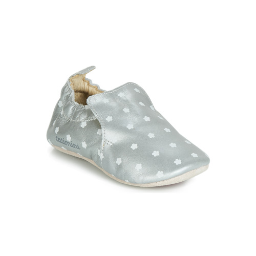 Shoes Girl Slippers Catimini CATA Silver
