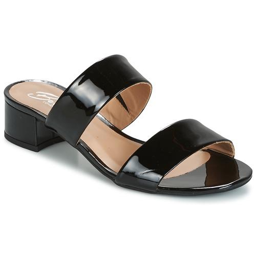 Shoes Women Mules Betty London BAMALEA Black / Patent