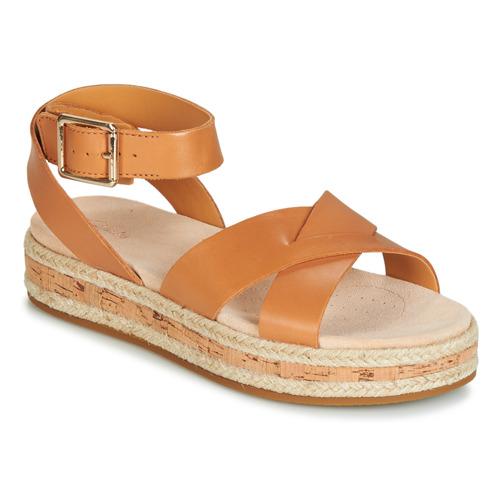 Shoes Women Sandals Clarks BOTANIC POPPY Brown