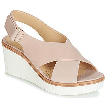b685c0537916 Shoes Women Sandals Clarks PALM CANDID Nude