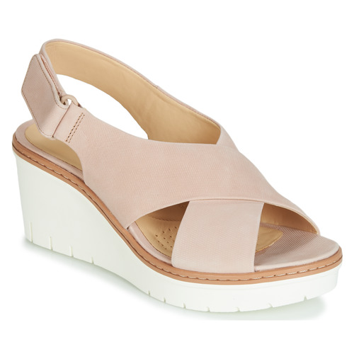 Shoes Women Sandals Clarks PALM CANDID Nude