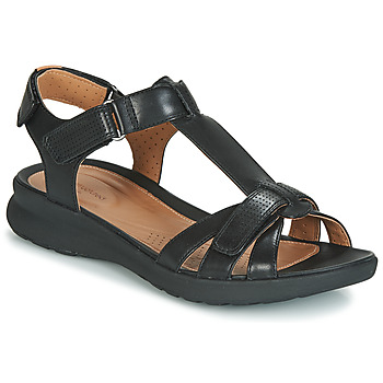 Shoes Women Sandals Clarks UN ADORN VIBE Black