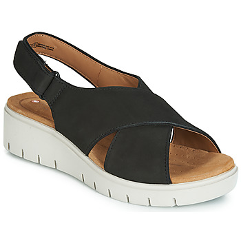 a96e2e73216 Shoes Women Sandals Clarks UN KARELY SUN Black
