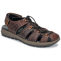 Shoes Men Outdoor sandals Clarks BRIXBY COVE Brown