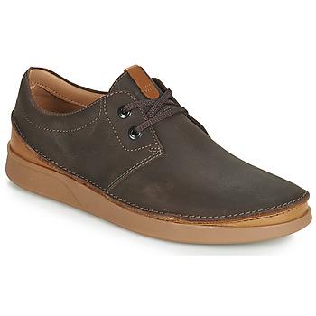 Shoes Men Derby Shoes Clarks OAKLAND LACE Brown