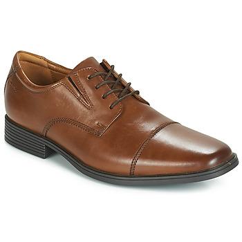Shoes Men Derby Shoes Clarks TILDEN CAP Brown