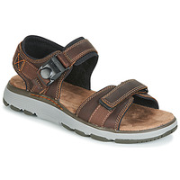 Shoes Men Outdoor sandals Clarks UN TREK PART Brown