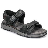 Shoes Men Sandals Clarks UN TREK PART Black