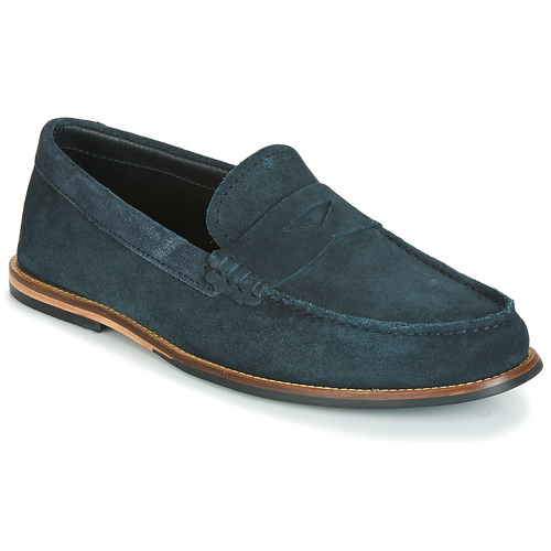Shoes Men Loafers Clarks WHITLEY FREE Marine