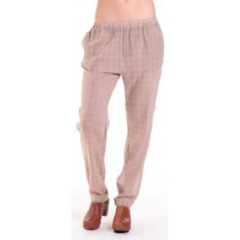 Clothing Women Wide leg / Harem trousers American Vintage PANTALON ABI178 MIEL/SABLE Beige